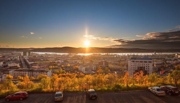 Мурманск, полярный день